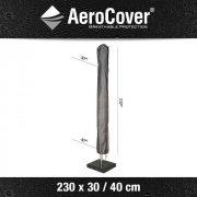 Parasolhoes aerocover 230x30-40cm